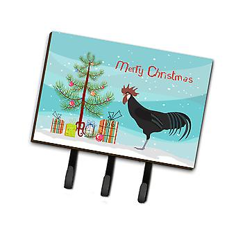 Minorca Ctalalan Chicken Christmas Leash or Key Holder