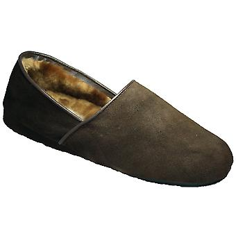 Mirak David Suede instapper Slipper / heren Slippers / Classic heren Slippers