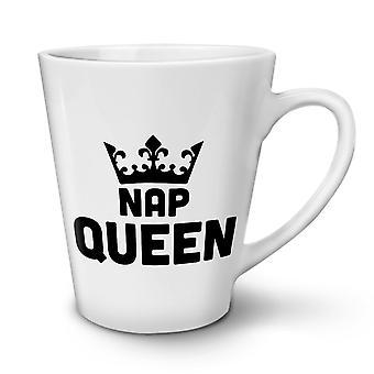 NAP-Queen neue weißer Tee Kaffee Keramik Latte Becher 17 oz   Wellcoda