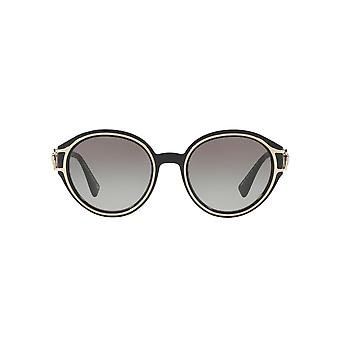 Versace V Strong Sunglasses In Black Pale Gold