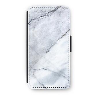 iPhone 7 Flip Case - Marble white