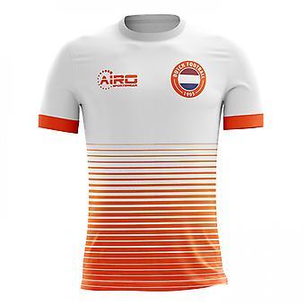 2018-2019 Holland Away Concept Football Shirt