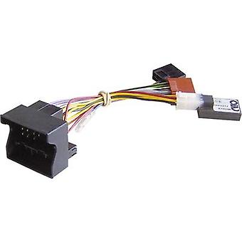 ISO car radio cable (active) AIV Compatible with (car make): BMW, Mercedes Benz