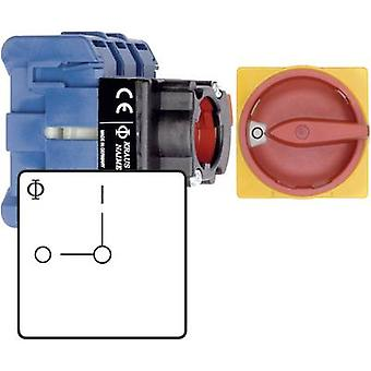 Switch disconnector fuse 32 A 1 x 90 ° Red, Yell