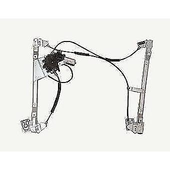 Front Right Electric Window Regulator (with motor) for VW POLO (6N2) 1999-2001