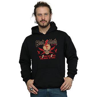 Black Sabbath Herren Skull Crest Hoodie