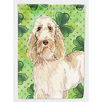 Carolines Treasures  CK1786CHF Shamrocks Spinone Italiano Flag Canvas House Size