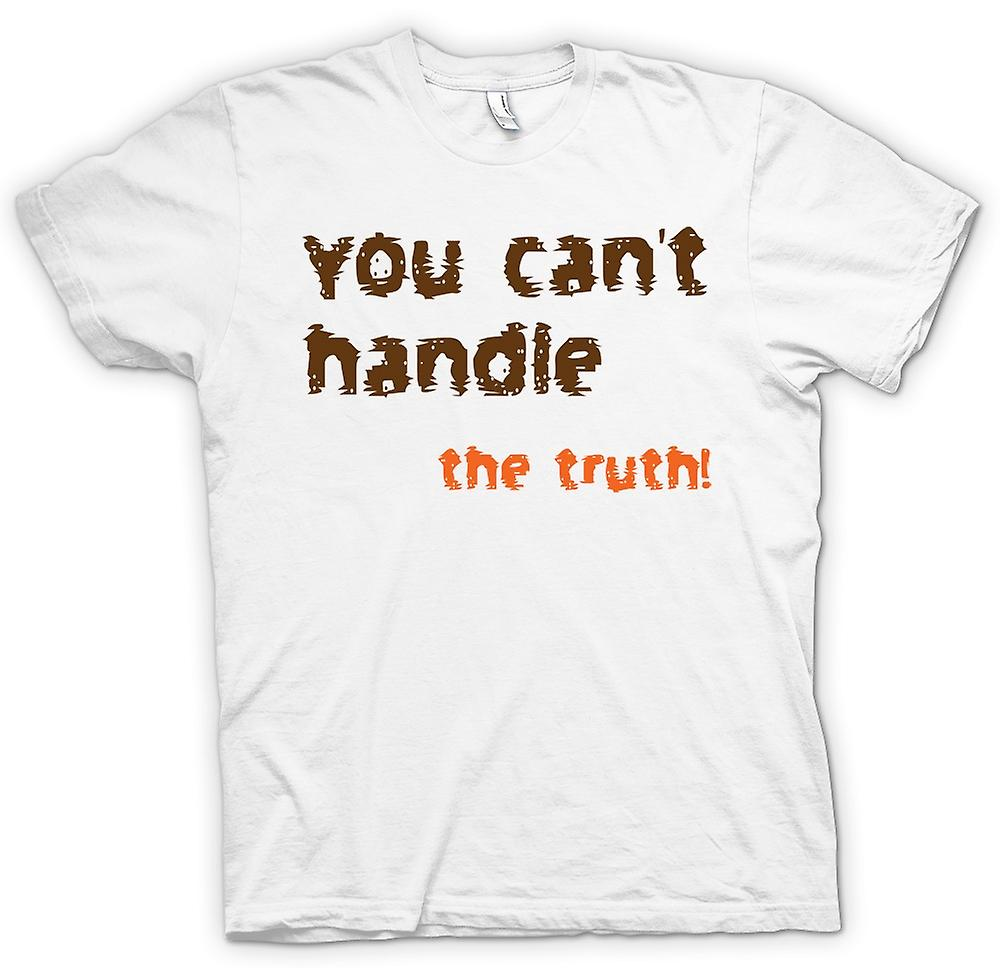 Womens T-shirt - I Want The Truth! - Funny Quote