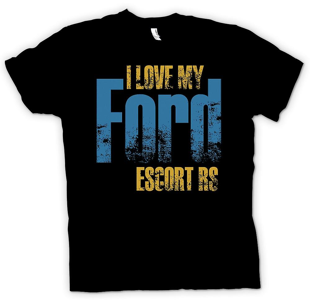 Kids T-shirt - I Love My Ford Escort Rs - Car Enthusiast