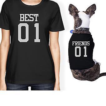 Best01 Friends01 小さなペット所有者マッチング ギフト衣装 Best01 friends01