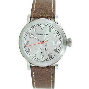 Aristo Herren Messerschmitt Uhr Fliegeruhr ME163-SIL Leder