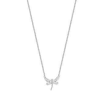 ESPRIT women's chain necklace silver ESNL93147A420 cubic zirconia Dragonfly ESNL93147A420