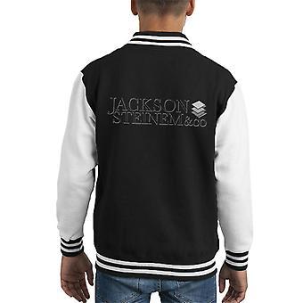 Wall Street Jackson Steinem Co Kid Varsity Jacket
