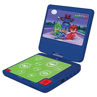 PJ Masks Portable DVD Player Purple (Model No. DVDP6PJM)