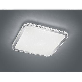 Trio Lighting Sapporo Modern White Plastic Ceiling Lamp