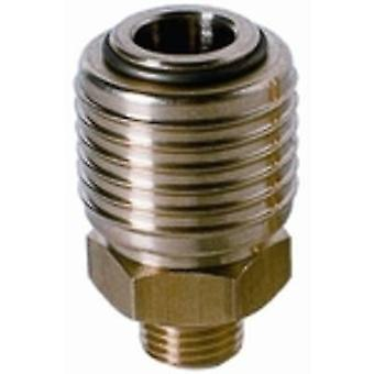Einhell R1/4 AG Pneumatic quick-fit connector