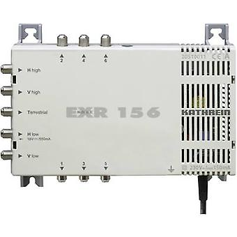 Kathrein EXR 156 SAT multiswitch Inputs (multiswitches): 5 (4 SAT/1 terrestrial) No. of participants: 6