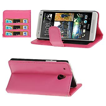 Cas de téléphone portable pour HTC mobile un mini rose M4