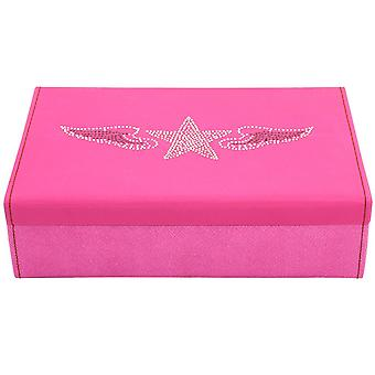 Friedrich leather jewelry case jewelry box BACCARAT pink watch specialist
