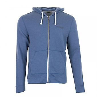 Napapijri Mens Bodo Full Zip Hooded Sweat (Blue)