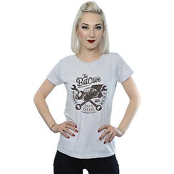 DC Comics Women's Batman Dad's Garage T-Shirt
