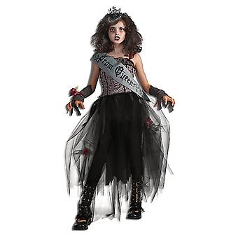 Goth Prom Queen Halloween dress costume for kids