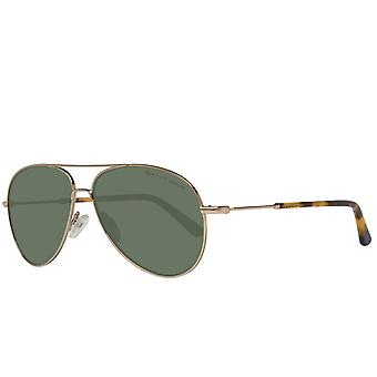 GANT men's Gold Aviator sunglasses