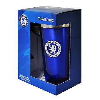 Chelsea Boxed Aluminium Travel mugg