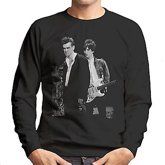 Morrissey And Johnny Marr Of The Smiths 1985 Men's Sweatshirt