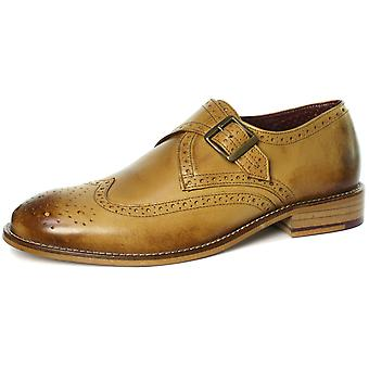 London Brogues Hutton Mens Single Strap Monk Shoes  AND COLOURS
