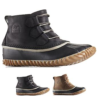 Womens Sorel Out N About Waterproof Winter Hiking Snow Rain Ankle Boots