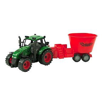 Tractor frictie met mengwagen 38cm