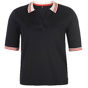 Only Womens Lourie Polo Tee Shirt Top Jersey Short Sleeve Cotton Regular Fit