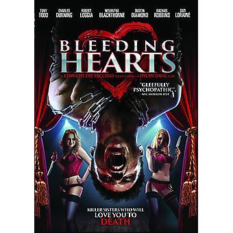 Blødende hjerter [DVD] USA importere