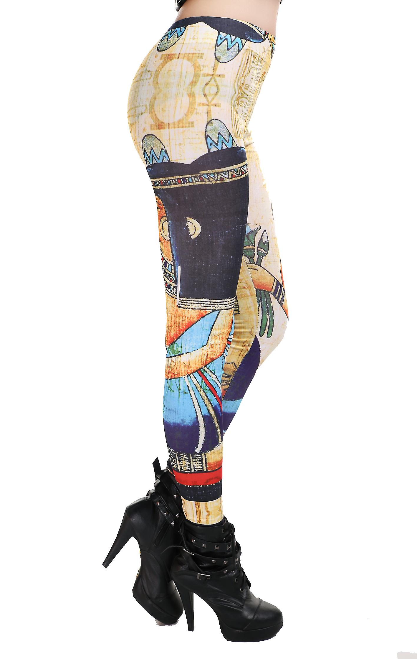 Waooh - Fashion - Legging printed papyrus