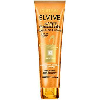 Elvive Extraordinary Oil Cream Without Rinse 150 ml (Hair care , Moisturizing oils)