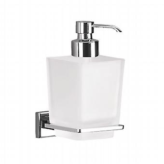 Gedy Colorado Glas Soap Dispenser Chrom 6981 13