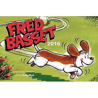 Annuaire de Fred Basset 2016 par Alex Graham - livre 9781849537582