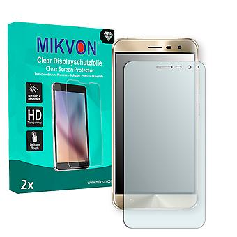 Asus ZenFone 3 ZE520KL Screen Protector - Mikvon Clear (Retail Package with accessories) (reduced foil)
