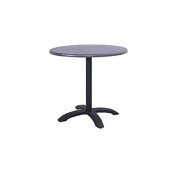 Hartman Topalit vouwbare bistrotafel Ø80x74 cm - zwart