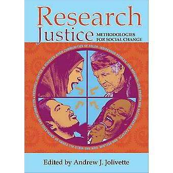 Research Justice - Methodologies for Social Change - 9781447324638 Book