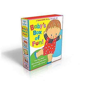 Baby's vak plezier: een Lift-The-Flap cadeauset van Karen Katz: tenen, oren, neus &! / waar Is Baby's Belly Button? / waar Is Mama van de Baby's?