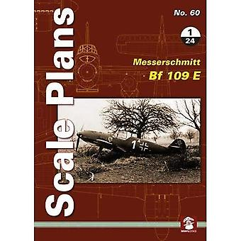Scale Plans No. 60: Messerschmitt Bf 109 E 1/24 (Scale Plans)