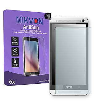 HTC 801n Screen Protector - Mikvon AntiSun (Retail Package with accessories)