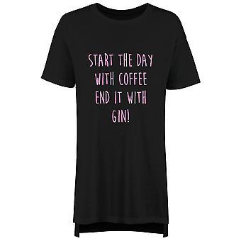 Best Sister Ever Ladies Nightie Slogan