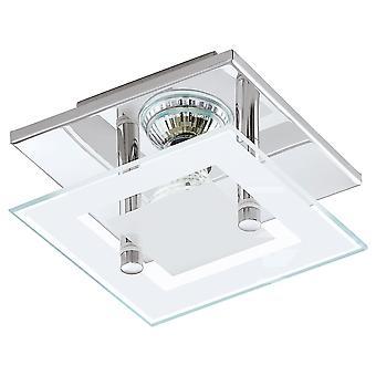 Eglo - Chrome Almana & vidro único LED Spot EG94224 luz de teto