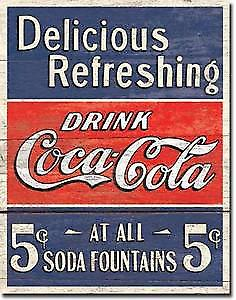 Coca Cola Delicious Refreshing fridge magnet  (de )