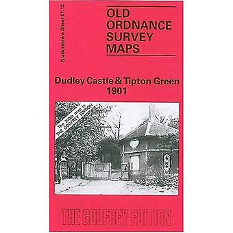 Dudley Castle and Tipton Green 1901: Staffordshire Sheet 67.12 (Old O.S. Maps of Staffordshire)