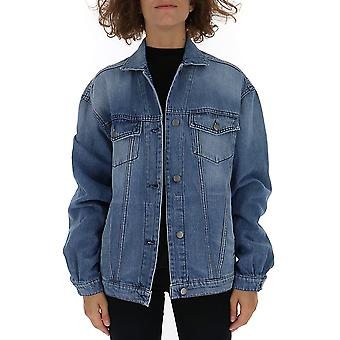 Amen Blue Cotton Outerwear Jacket