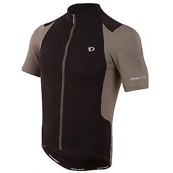 Pearl Izumi Black-Smoked Pearl Select Pursuit Short Sleeved Cycling Jersey
